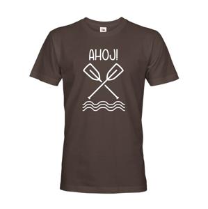 Pánske vodácke tričko Ahoj! - s dotlačou mena, tímu alebo čísla
