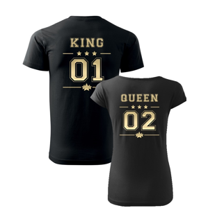 Párové tričká King a Queen -  skvelý darček nielen na Valentína