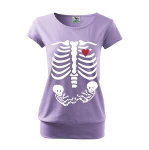 Tričko pre budúce mamičky Kostřička dvojčiatka