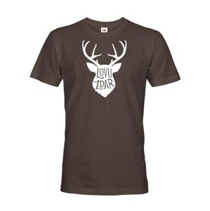 Tričko pre poľovníkov Lovu zdar - darček pre poľovníkov