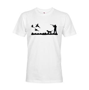 Tričko pro myslivce s loveckou tématikou - atraktivní military odstín