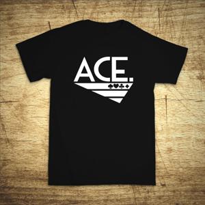 Tričko s motivem Ace 2
