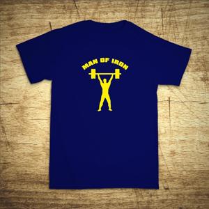 Tričko s motivem Iron man