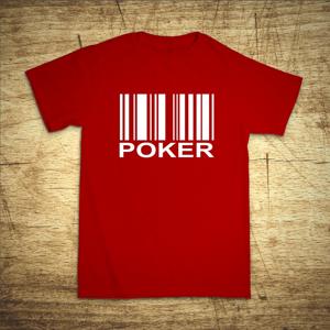 Tričko s motivem Poker code
