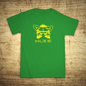 Tričko s motivem Polib mi