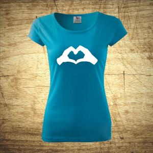 Tričko s motivem Srdce