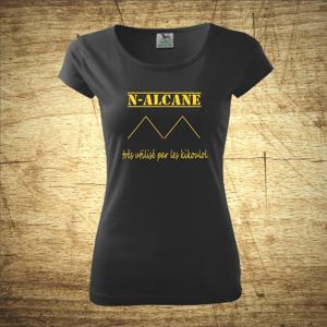 Tričko s motívom N - Alcane