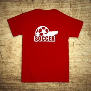Tričko s motívom Soccer