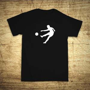 Tričko s motívom Útočník