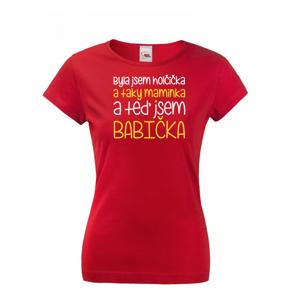 Tričko s potlačou pre babičku - skvelý narodeninový darček