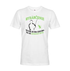 Vtipné rybárske tričko Rybárčenie je životný štýl - darček k narodeninám