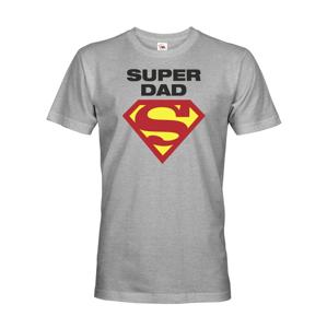 Vtipné tričko pre super oteckov Super Dad