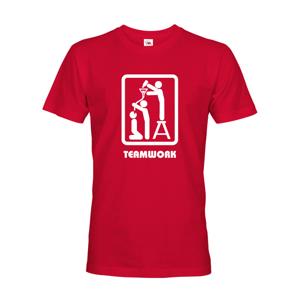Vtipné tričko s motivem Teamwork - ideální triko pro kamarády
