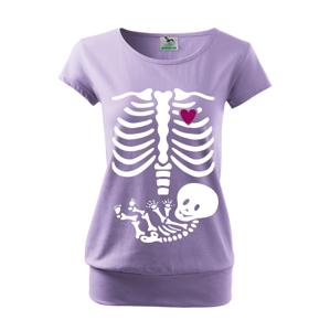 Vtipné tričko s potlačou pre budúce mamičky Kostřička