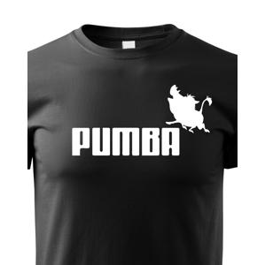 Vtipné tričko s potlačou Pumba - originálny darček nielen k narodeninám