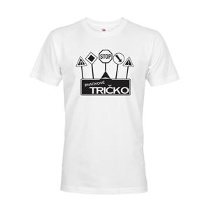 Vtipné tričko s potlačou  Značkové tričko - ideálny darček pre rebelov